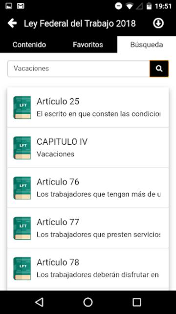 LFT 2019 - Ley Federal del Trabajo screenshot 5
