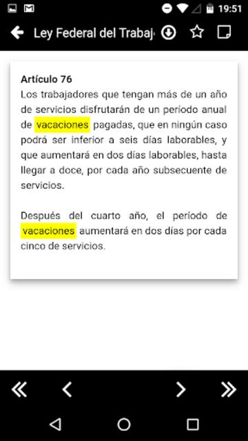 LFT 2019 - Ley Federal del Trabajo screenshot 6