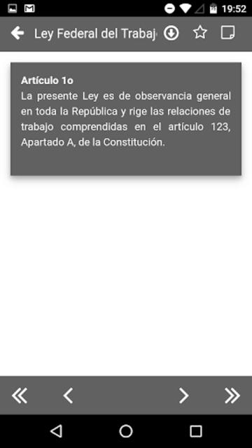 LFT 2019 - Ley Federal del Trabajo screenshot 7