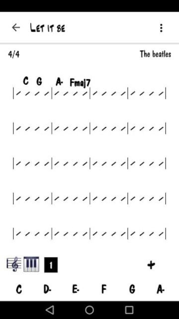 Easy Chart - Music Chart Maker screenshot 3