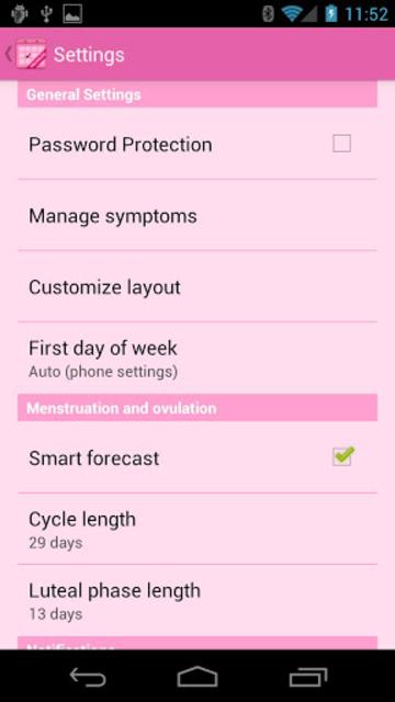 Menstrual Calendar Premium screenshot 5