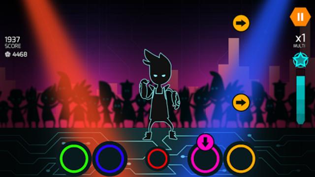 Dude Dancer: Rhythm Game with Dubstep & NewWave screenshot 1