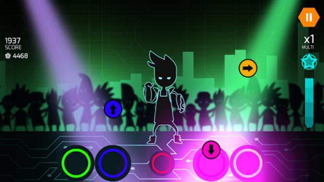 Dude Dancer: Rhythm Game with Dubstep & NewWave screenshot 9