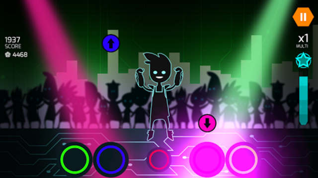 Dude Dancer: Rhythm Game with Dubstep & NewWave screenshot 11