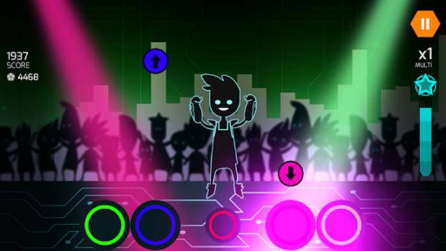 Dude Dancer: Rhythm Game with Dubstep & NewWave screenshot 16