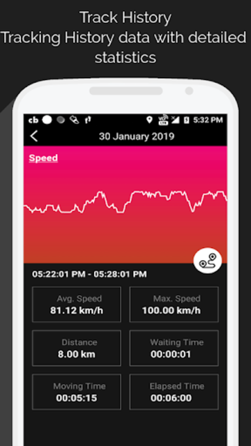 GPS Speedometer screenshot 6