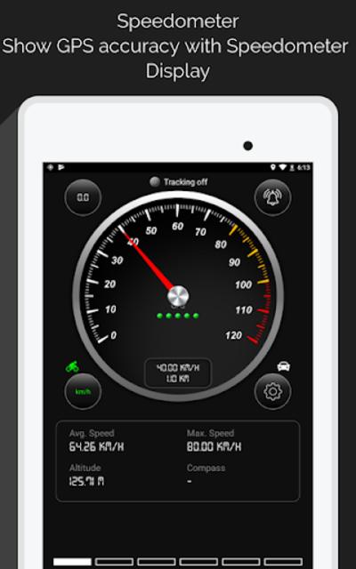GPS Speedometer screenshot 11