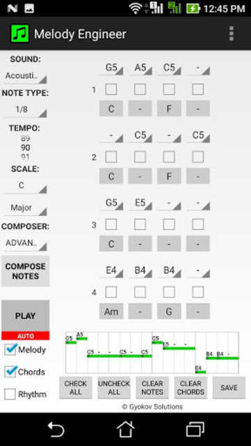 Melody Engineer screenshot 1