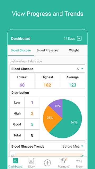 Health2Sync - Diabetes Care screenshot 1