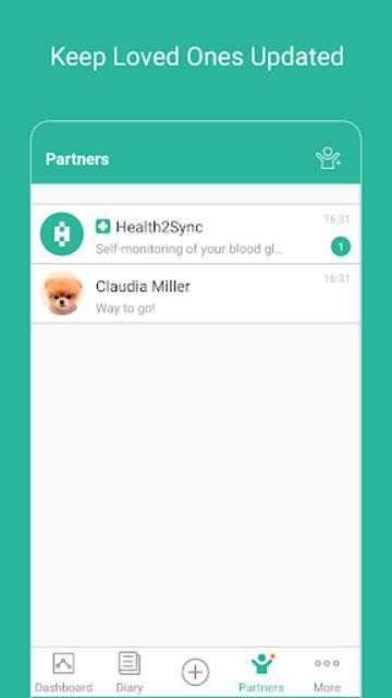 Health2Sync - Diabetes Care screenshot 5