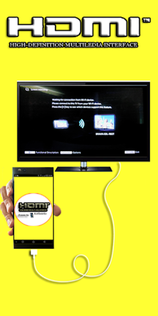 Hdmi Cable Premium Connector Screen for android screenshot 2