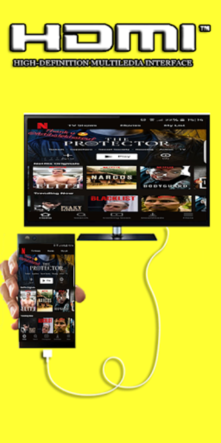 Hdmi Cable Premium Connector Screen for android screenshot 3