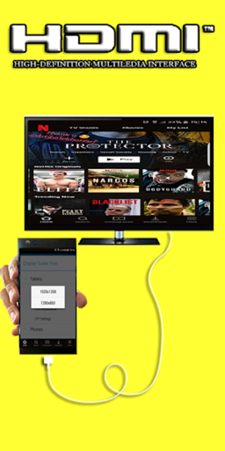 Hdmi Cable Premium Connector Screen for android screenshot 4