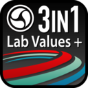 Icon for Lab Values + Medical Reference