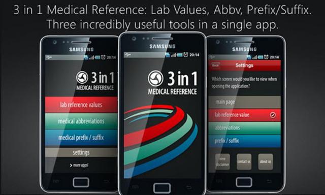 Lab Values + Medical Reference screenshot 1