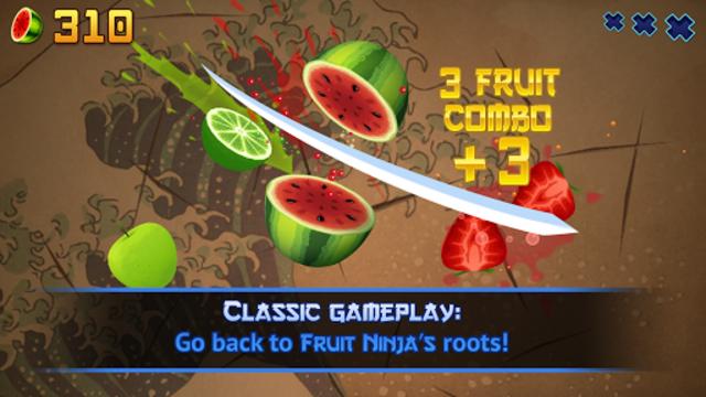 Fruit Ninja Classic screenshot 1