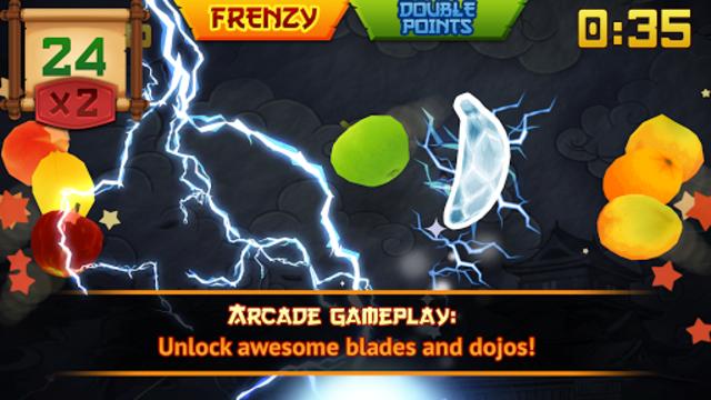 Fruit Ninja Classic screenshot 2