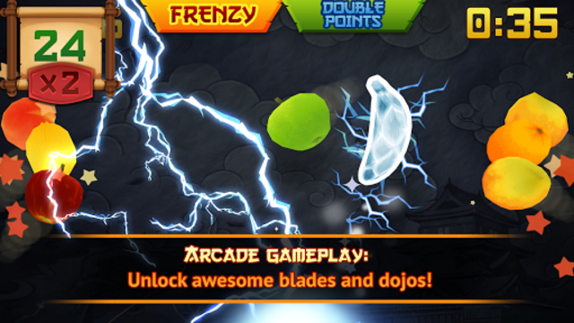 Fruit Ninja Classic screenshot 10