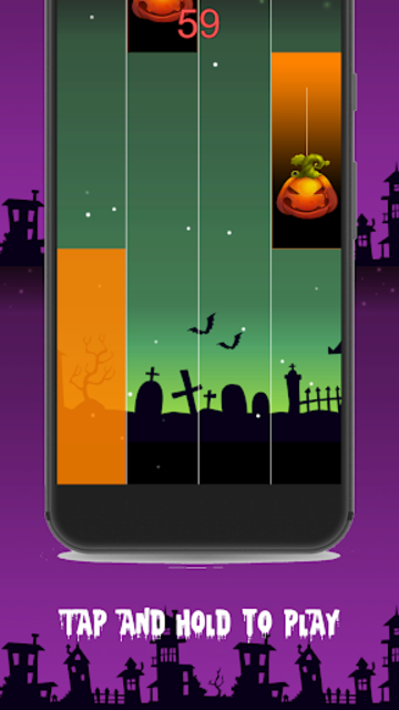 Halloween Piano Tiles screenshot 1