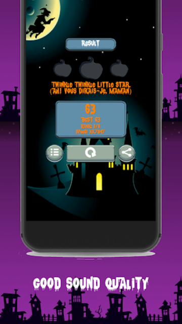 Halloween Piano Tiles screenshot 2