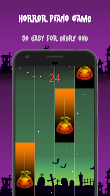 Halloween Piano Tiles screenshot 3