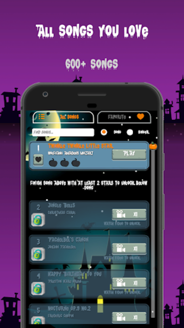 Halloween Piano Tiles screenshot 4