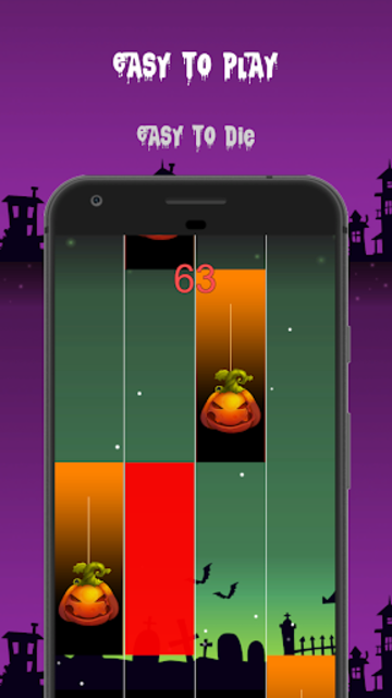 Halloween Piano Tiles screenshot 5