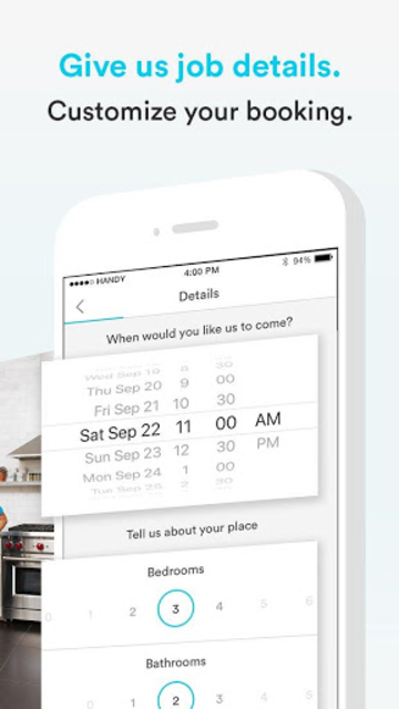 Handy - Book home services screenshot 3
