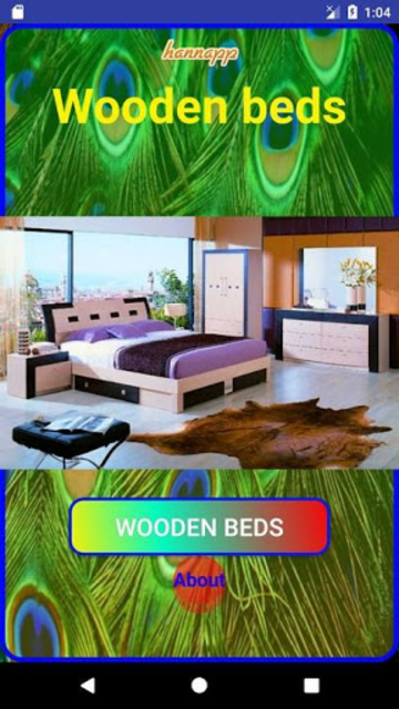 Wooden Bed screenshot 4