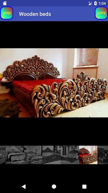 Wooden Bed screenshot 12