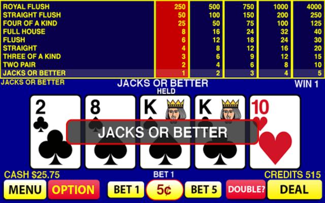 9 6 Jacks Or Better Video Poker