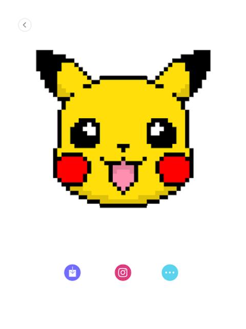 Happy Cartoon Pixel Book - Pixel Art Coloring screenshot 4
