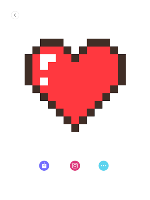 Happy Cartoon Pixel Book - Pixel Art Coloring screenshot 5