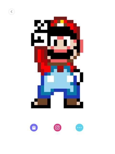 Happy Cartoon Pixel Book - Pixel Art Coloring screenshot 6