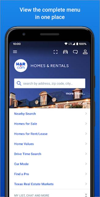 Real Estate by HAR.com - Texas screenshot 1