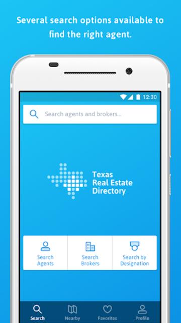 Texas Real Estate Directory screenshot 1
