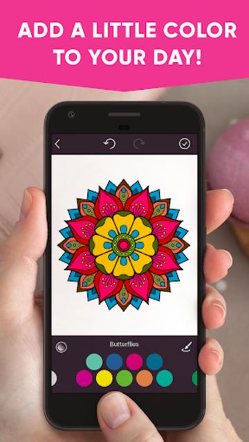 Lotus: Coloring book screenshot 1
