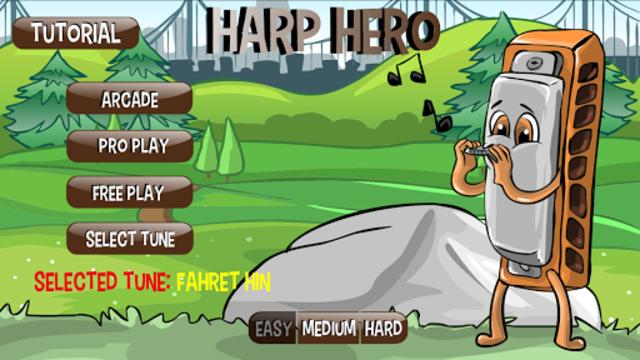 Harp Hero ( harmonica ) screenshot 1