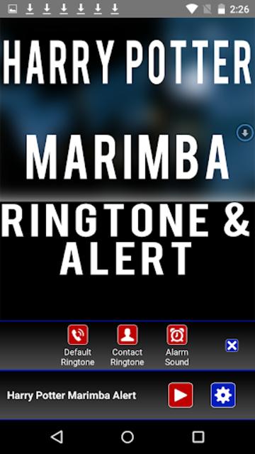 Harry Potter Marimba Ringtone screenshot 2