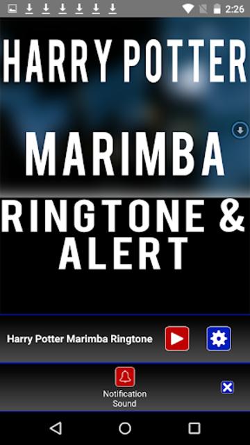 Harry Potter Marimba Ringtone screenshot 3
