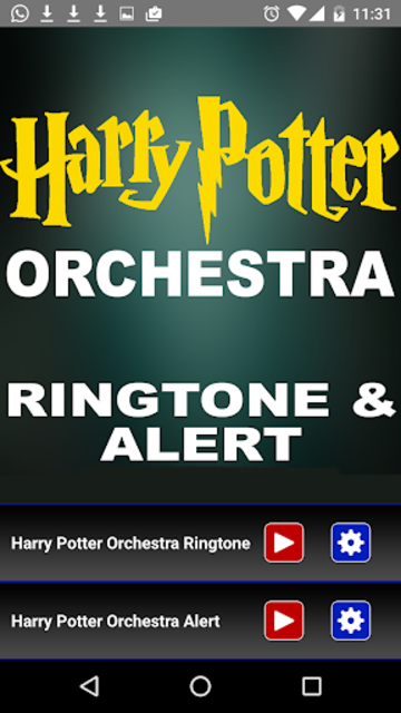 Harry Potter OrchestraRingtone screenshot 2