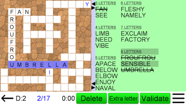 Word Fit Puzzle screenshot 8