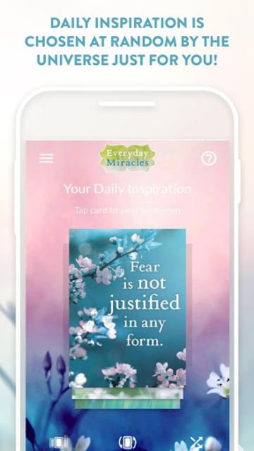 Everyday Miracles: A 50-Card Deck of Lessons screenshot 2