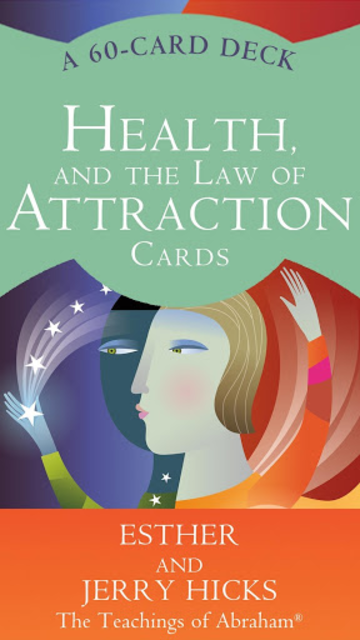 Health and the Law of Attraction Cards screenshot 1