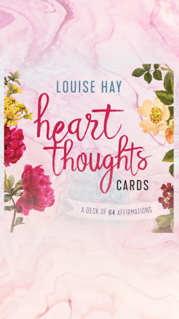 Heart Thoughts Cards - Louise Hay screenshot 1