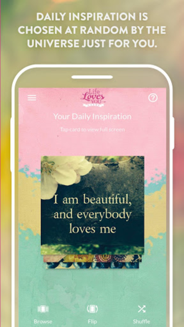 Life Loves You Cards - Louise Hay & Robert Holden screenshot 2