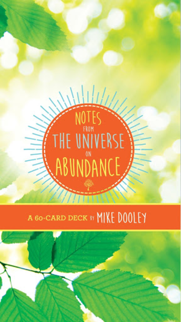 Notes from The Universe on Abundance - Mike Dooley screenshot 1