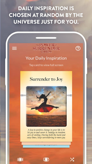 The Power of Surrender Cards - Judith Orloff, M.D. screenshot 2