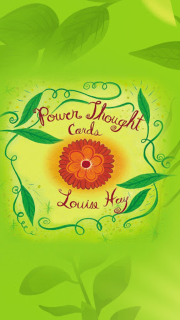 Power Thought Cards - Louise Hay screenshot 1