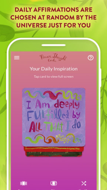 Power Thought Cards - Louise Hay screenshot 2